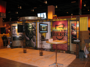 custom truss system tradeshow display