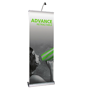 Personally Portable Premium Retractable Banner Stand