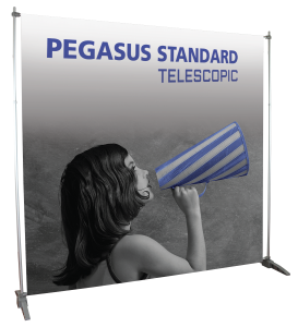Adjustable Step and Repeat Banner Stand